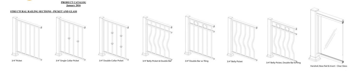 railing styles